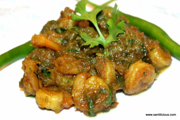 Goan Prawn Chilly Fry