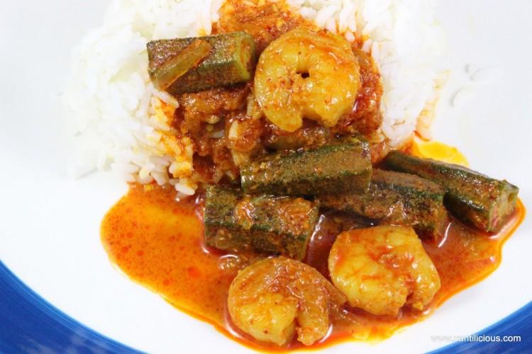 Goan Prawn Curry with Ladyfingers