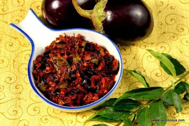 Goan Brinjal Pickle