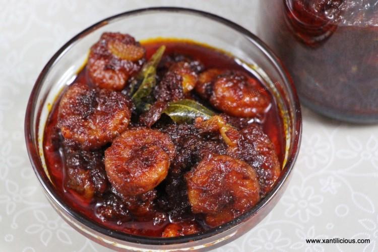 Prawn Balchão (Goan Prawn Pickle)