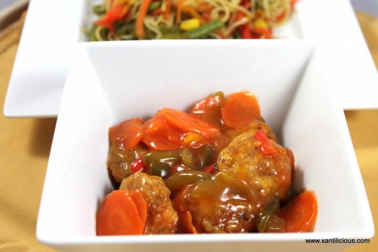 Sweet and Sour Prawns/Shrimps