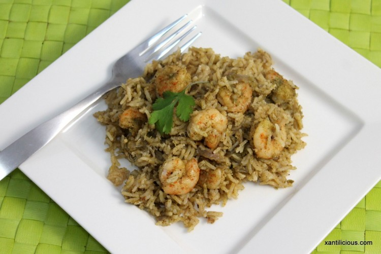 Coconut Based Goan Prawn Pulao