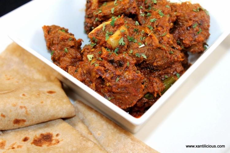 Mutton Bhuna (Bhuna Gosht)