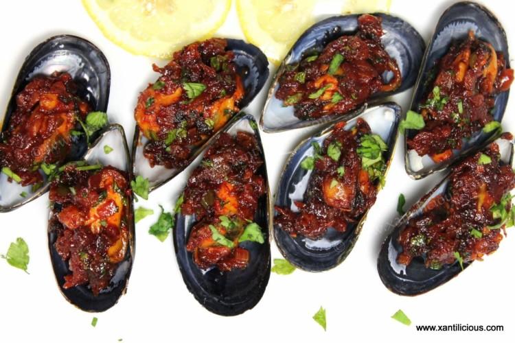 Recheado Masala Mussels (Xinaneao)