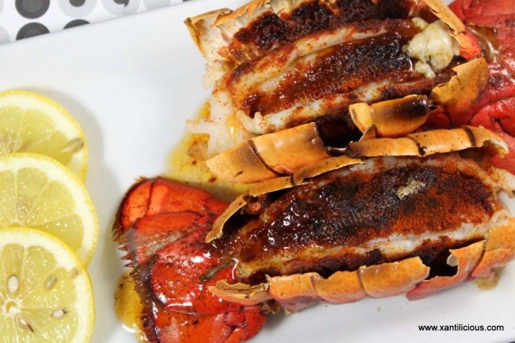 Spicy Butter Paprika Lobsters