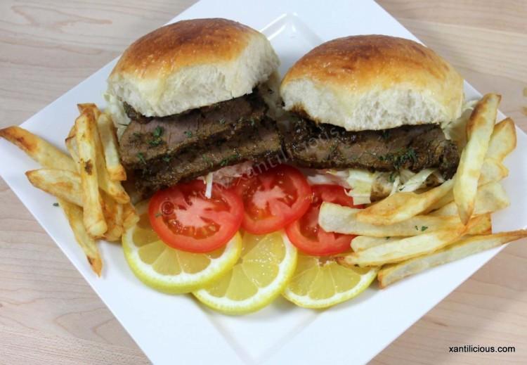 Goan Beef Roast Sandwiches