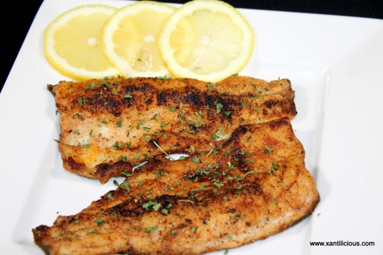 Spiced Trout