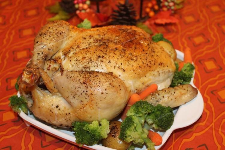 Simple Goan Roast Chicken