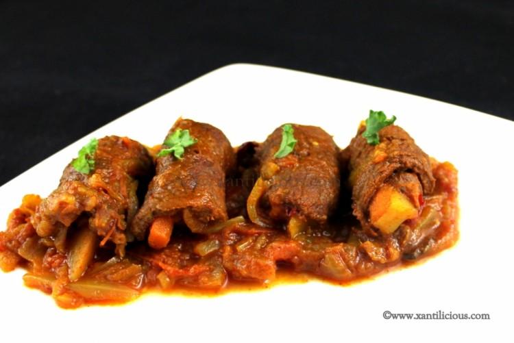 Beef Rolad (Goan Beef Rolls)