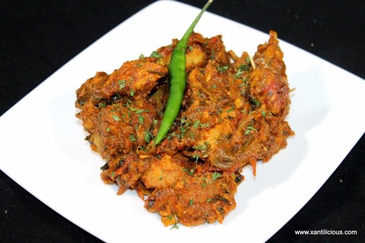 Spicy Chicken (Goan Style)