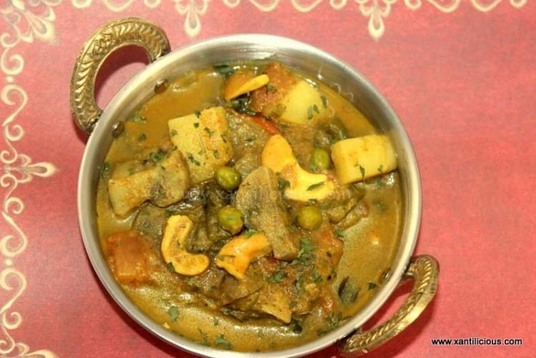 Mixed Veg Goan Xacuti