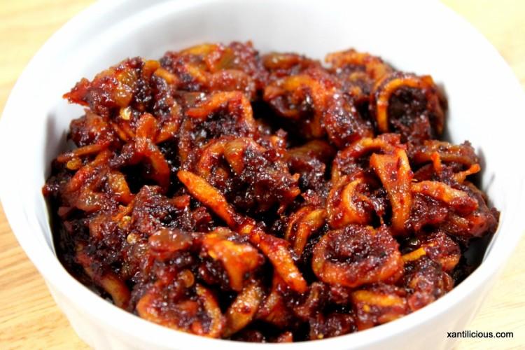 Squids / Mussels(Xinnaneo) Pickle