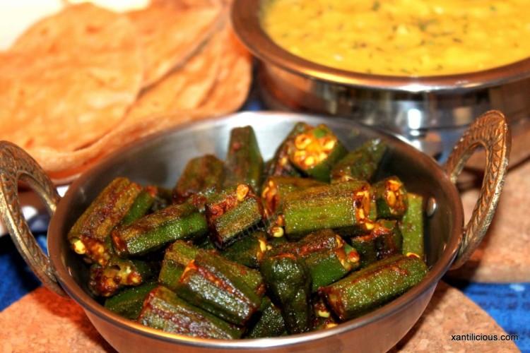 Bhindi Masala Fry (Okra)
