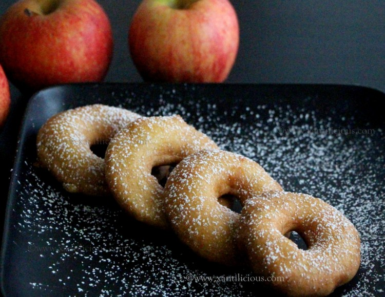 Fried Apple Donuts