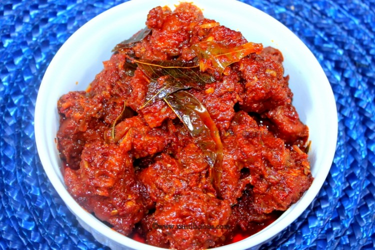 Goan Pork Pickle