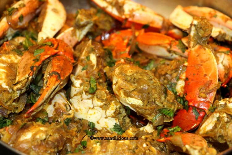Goan Crab Sukhem / Sukkha